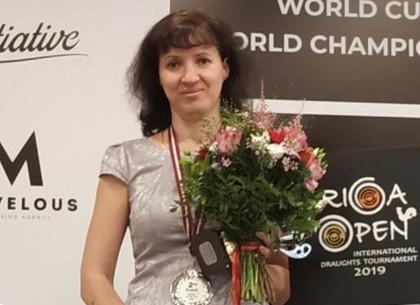 Юлия Макаренкова – серебряный призер этапа Кубка мира по шашкам