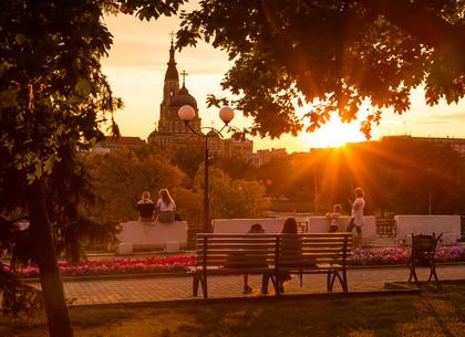 Закат в Харькове (ФОТО)