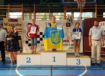 Юная харьковчанка стала чемпионкой Европы по шашкам