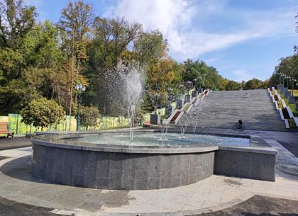 Каскад в саду Шевченко открыли для харьковчан