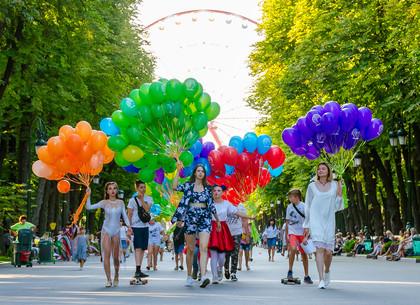 Как праздновали День рождения парка Горького (ФОТО)