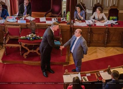 Харьков передал Ченстохове полномочия главы Ассоциации городов-обладателей Приза Европы (ФОТО)
