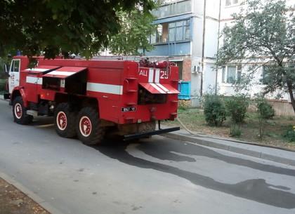В сгоревшей на Рогани квартире нашли женский труп (ФОТО)