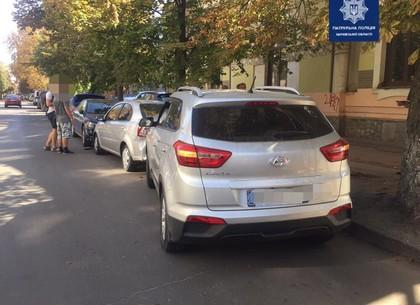 ДТП в центре Харькова: пострадали три припаркованных автомобиля