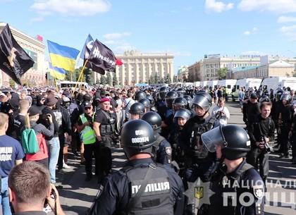 Как охраняли участников Марша равенства в Харькове: информация Нацполиции (ВИДЕО, ФОТО)