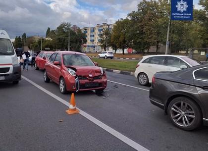 На Гагарина в тройном ДТП пострадал пассажир