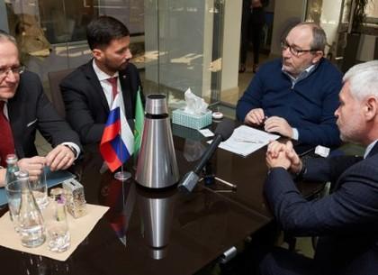 Геннадий Кернес встретился с делегацией из Словакии