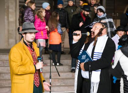 Ярмарка ремесел «Еврейский дворик» в Харькове (ФОТО)