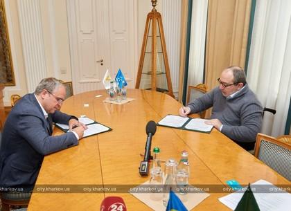 Геннадий Кернес подписал Меморандум о сотрудничестве с «Киевстар» (ФОТО)