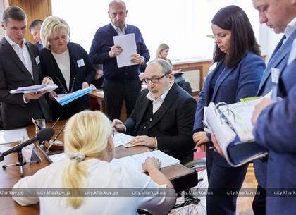 Геннадий Кернес провел личный прием на «Турбоатоме»
