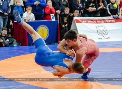 Борьба. Харьковчане успешно выступили на всеукраинском турнире (ФОТО)