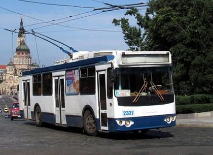В воскресенье 11-й троллейбус пойдет по другому маршруту