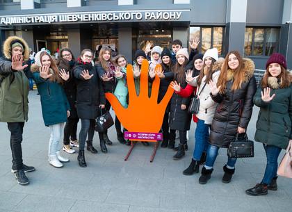 В Харькове состоялась акция «Разорви круг насилия» (ФОТО)