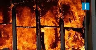 Дежурный караул в харьковском пригороде обнаружил на пожарище труп мужчины