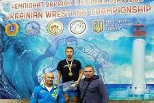 Юный борец с Лозовой победил на чемпионате Украины
