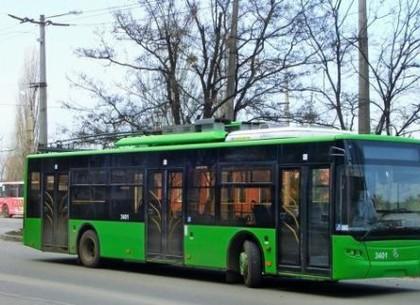 С понедельника в  Харькове - новый троллейбусный маршрут №47