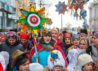 Парад вертепов в Харькове (ФОТО)