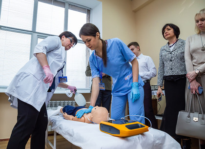 В Харькове открылся самый масштабный в Украине симуляционный центр для студентов-медиков (ФОТО)