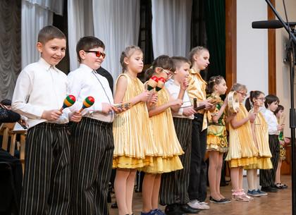В Харькове состоялся концерт юных музыкантов с нарушениями зрения (ФОТО)