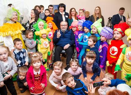 Геннадий Кернес открыл две группы в детском саду на Новых Домах (ФОТО)