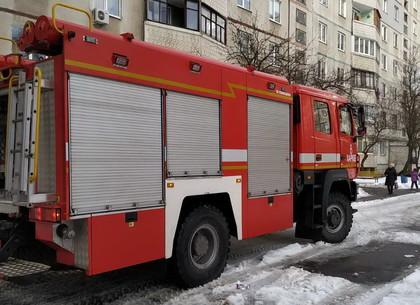Пожар на Рогани: хозяйка погибла, мать с грудничком спасли (ФОТО)