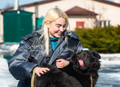 В Харькове появился профессиональный обниматель животных (ФОТО)