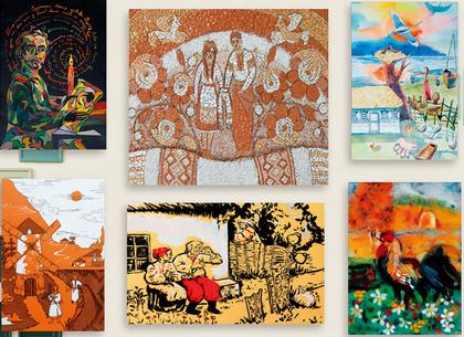 Детский художественный вернисаж откроется в харьковской галерее