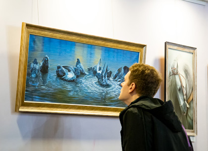 В Харькове проходит выставка масляной живописи «Арт-весна» (ФОТО)
