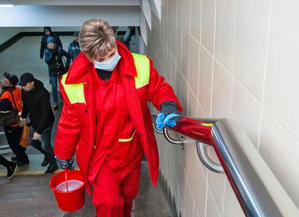 В Харькове проверили, как борются с коронавирусом в подземке (ФОТО)