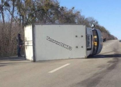ДТП: перевертыш на трассе (ФОТО, ВИДЕО, Обновлено)