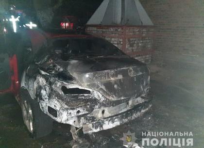 Поджигателя автомобиля вычислили на Баварии (ФОТО)
