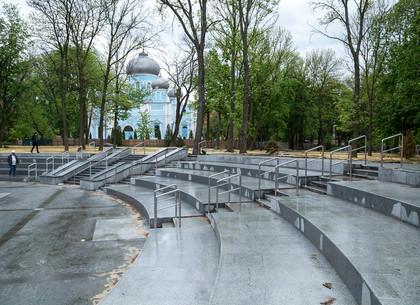 Молодежный парк в Харькове готовят к открытию после реконструкции (ФОТО)