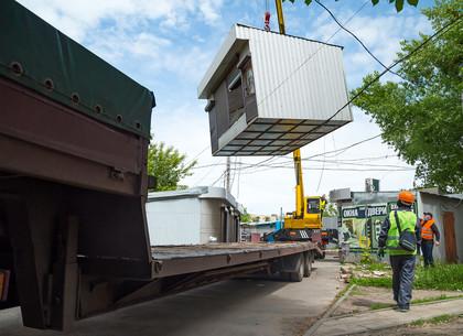 В Харькове стартовала кампания по демонтажу незаконно размещенных МАФов (ФОТО)