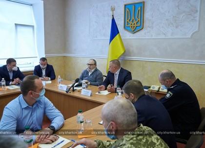 Геннадій Кернес обговорив з правоохоронцями створення в місті Єдиної системи відеоспостереження (ФОТО)