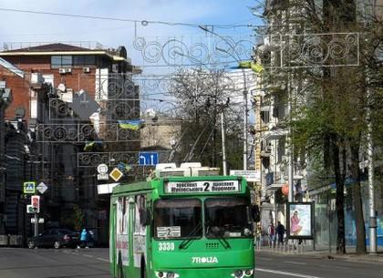 З понеділка тролейбус №2 змінить маршрут руху