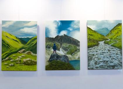 В Харькове проходит выставка живописи и графики «Восходящие потоки» (ФОТО)