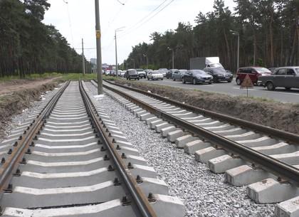 На остановке «Сосновый бор» – реконструкция трамвайного пути (ВИДЕО)
