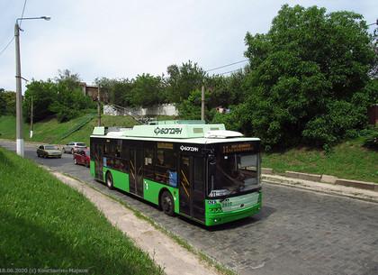 Троллейбусы № 11 временно изменят маршрут