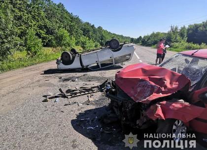 Подробности ДТП на трассе в Старый Салтов: четверо пострадавших (ФОТО)