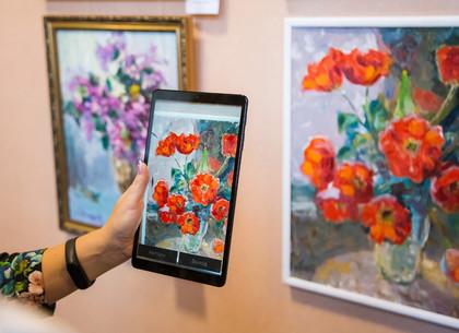 В Харькове открылась выставка с дополненной реальностью «Вальс цветов» (ФОТО)