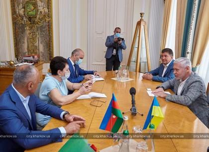 Ігор Терехов зустрівся із Надзвичайним і Повноважним Послом Азербайджана в Україні Ельмірою Ахундовою (ФОТО)
