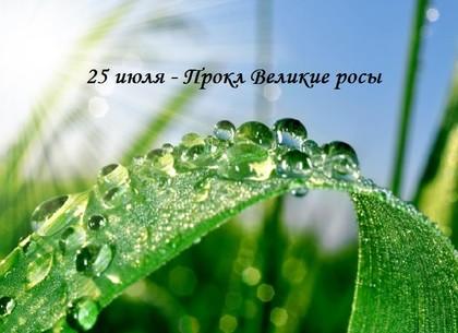 Великие росы: что можно и чего нельзя делать в этот день