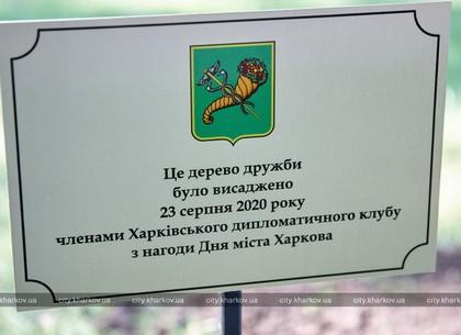 Іноземні дипломати посадили дерево дружби у парку імені Горького (ФОТО)