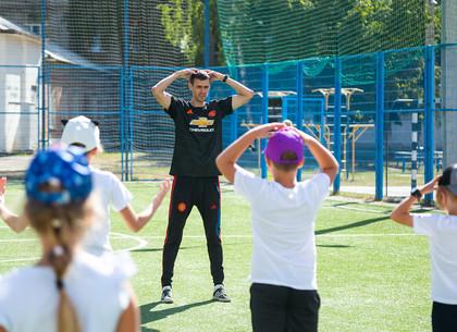 Как проводят физкультуру во время карантина в харьковской гимназии № 116 (ФОТО)