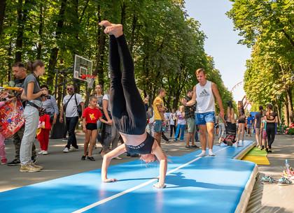 В парке Горького прошла спортивная ярмарка (ФОТО)