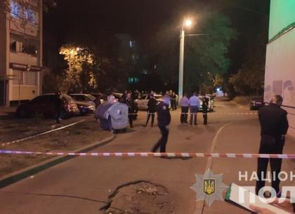 ВИДЕО: Полицейскому на Салтовке разбили голову в драке (ГУ Нацполиции)