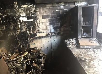 Пожар в кафе: подробности от пожарных (ГСЧС)
