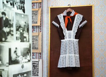 Фоторепортаж: Школьный музей в Харьковской гимназии №34 открыт для посещения (РЕДПОСТ)