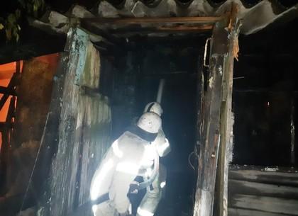 ФОТОфакт: в сгоревшем доме обнаружен неопознанный труп (ГСЧС)