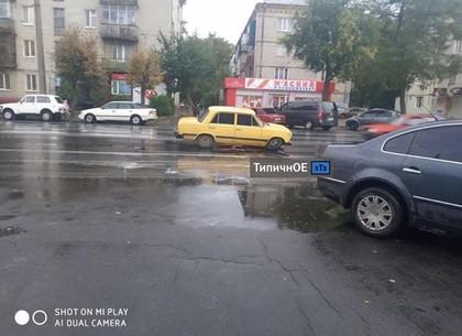 ФОТОфакт: ХТЗ - два ДТП на одном проспекте (Telegram)